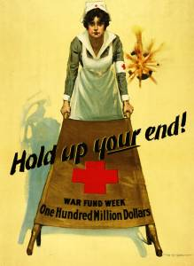 Hold up your end!: War fund week, one hundred million dollars Poster
