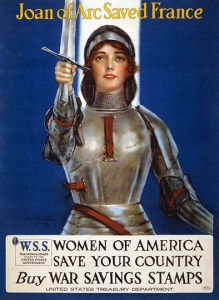 Joan of Arc Saved France, Lithograph