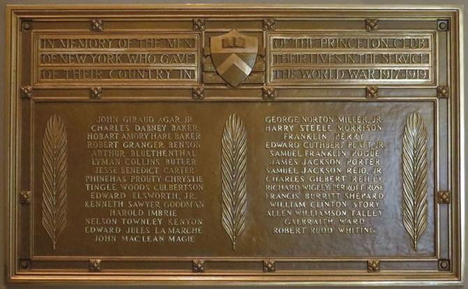 Princeton Memorial