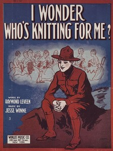 Whose Knitting Poster