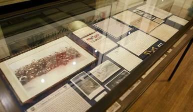 Materials in Exhibit Case