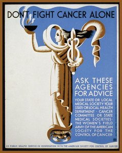 Don't Fight Cancer Alone Poster