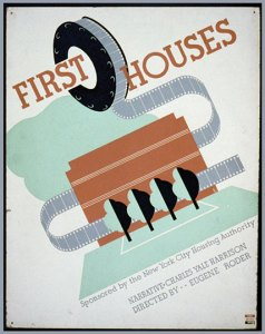 First Houses Poster