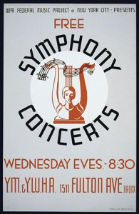 Symphony Concerts Poster