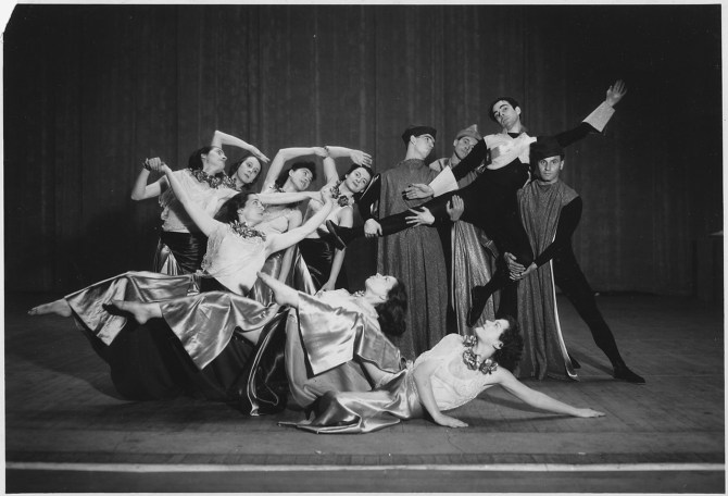 """WPA Federal Theater Project in New York:Dance Theater:""""Eternal Prodigal"""""""