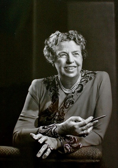 Photograph of Eleanor Roosevelt by Yousuf Karsh