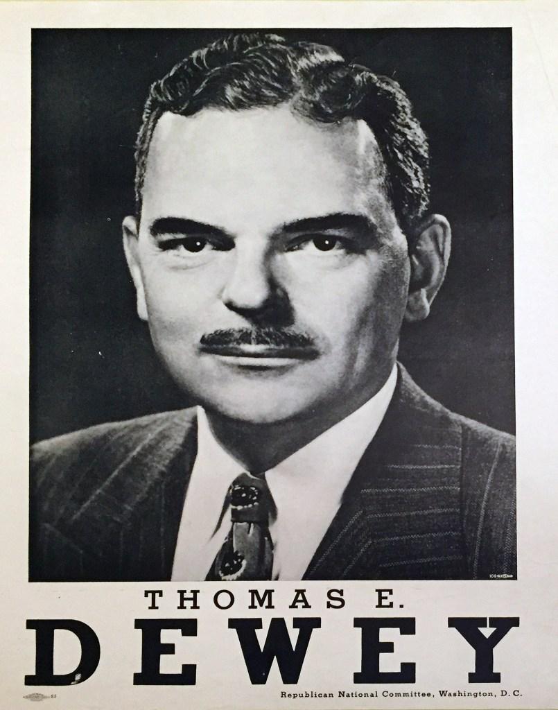 Thomas E. Dewey. 1948. (N-YHS)