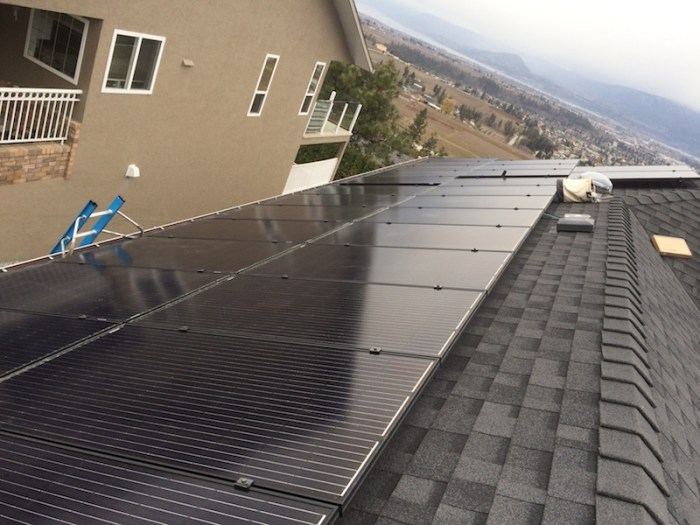 15 KW Kelowna Solar Rooftop