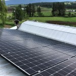 20 panel (6 kW) system in Armstrong