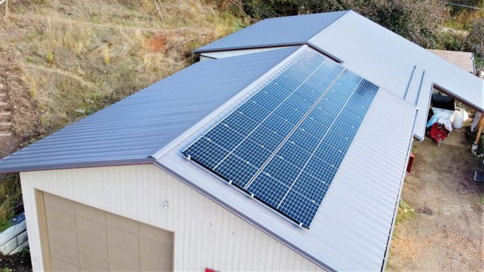 22 panel (7 kW) system in Vernon