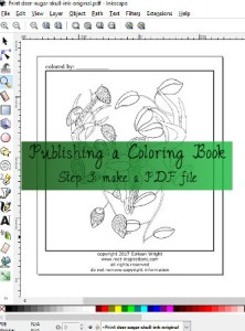 coloring book publishing pdf