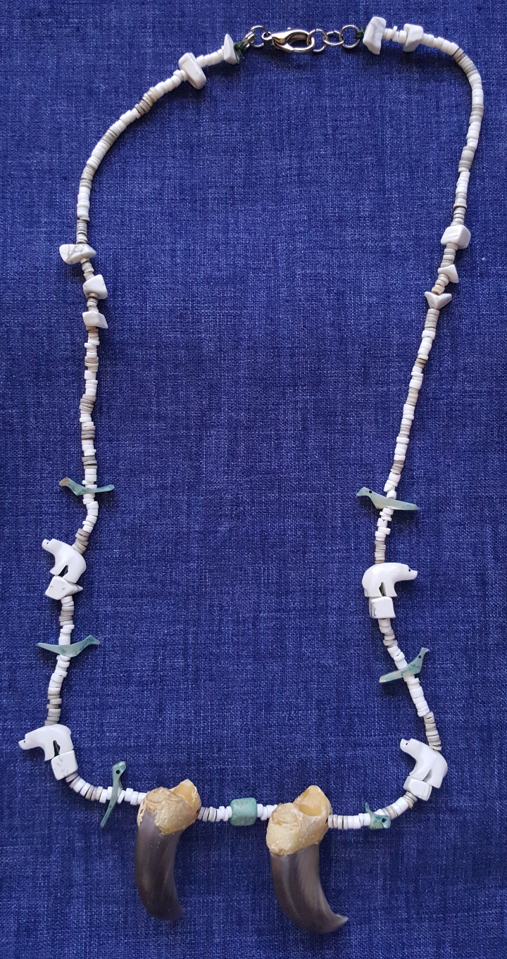 Anime Inspired Beaded Necklace--By Raven/'s Claw
