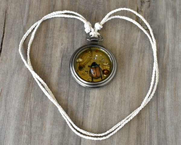 Bug Parts Collection Necklace