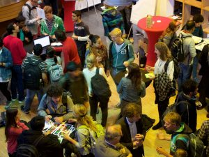 Sustainability event at TU Delft organised by the Green Office TU Delft