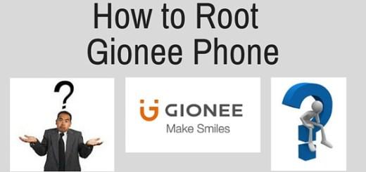 root Gionee Phone