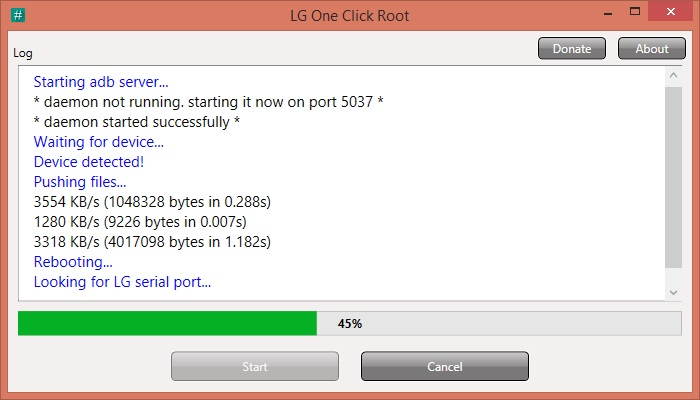 How To Root LG E739KWP myTouch