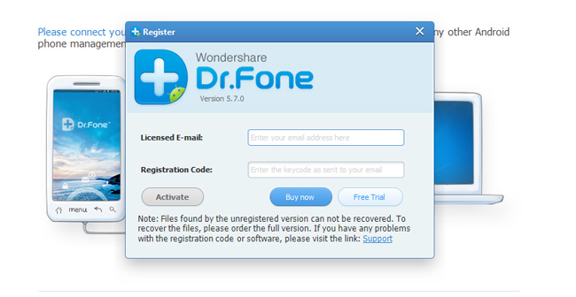 How to Root and Unroot your android device via dr.fone