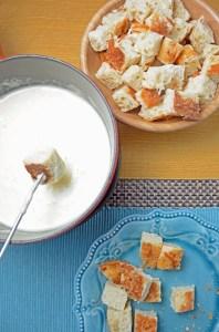 Frugal Cheese Fondue