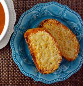 Easy Garlic Parmesan Bread