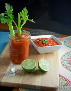 Incredible Salsa Bloody Mary