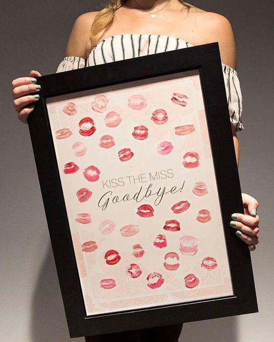 8. Kiss the Bride Frame