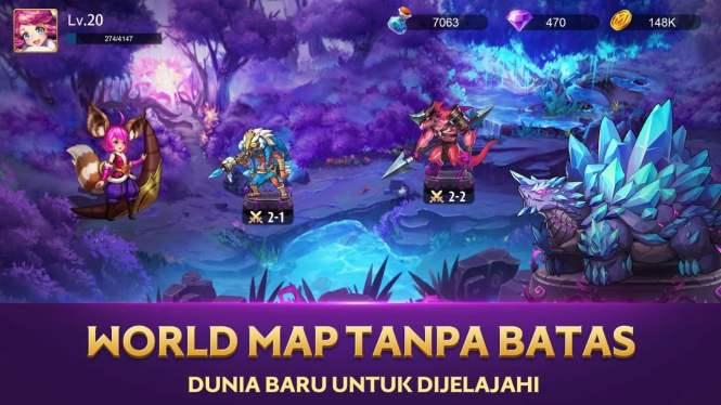 mobile legends adventure map