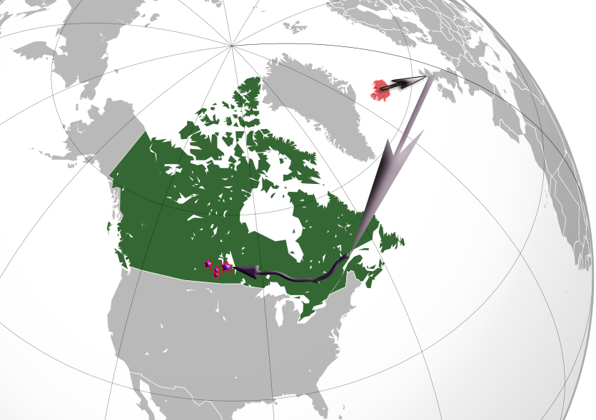 Icelandic migration to Canada, New Iceland Manitoba Lake Region, two settlements in southeast Saskatchewan Thingvalla and Churchbridge areas and Foam Lake settlement