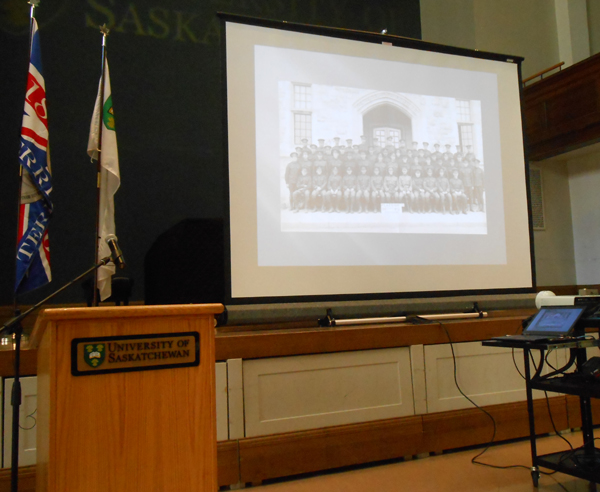 Honouring our heroes - Remember Us - University of Saskatchewan Great War Commemoration Committee slide show