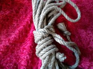 hemp bondage rope