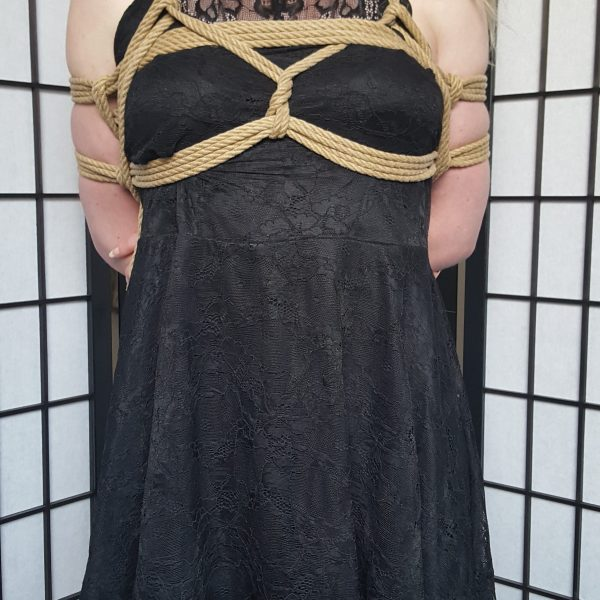 chest harness in Rope Bondage The Smart Way