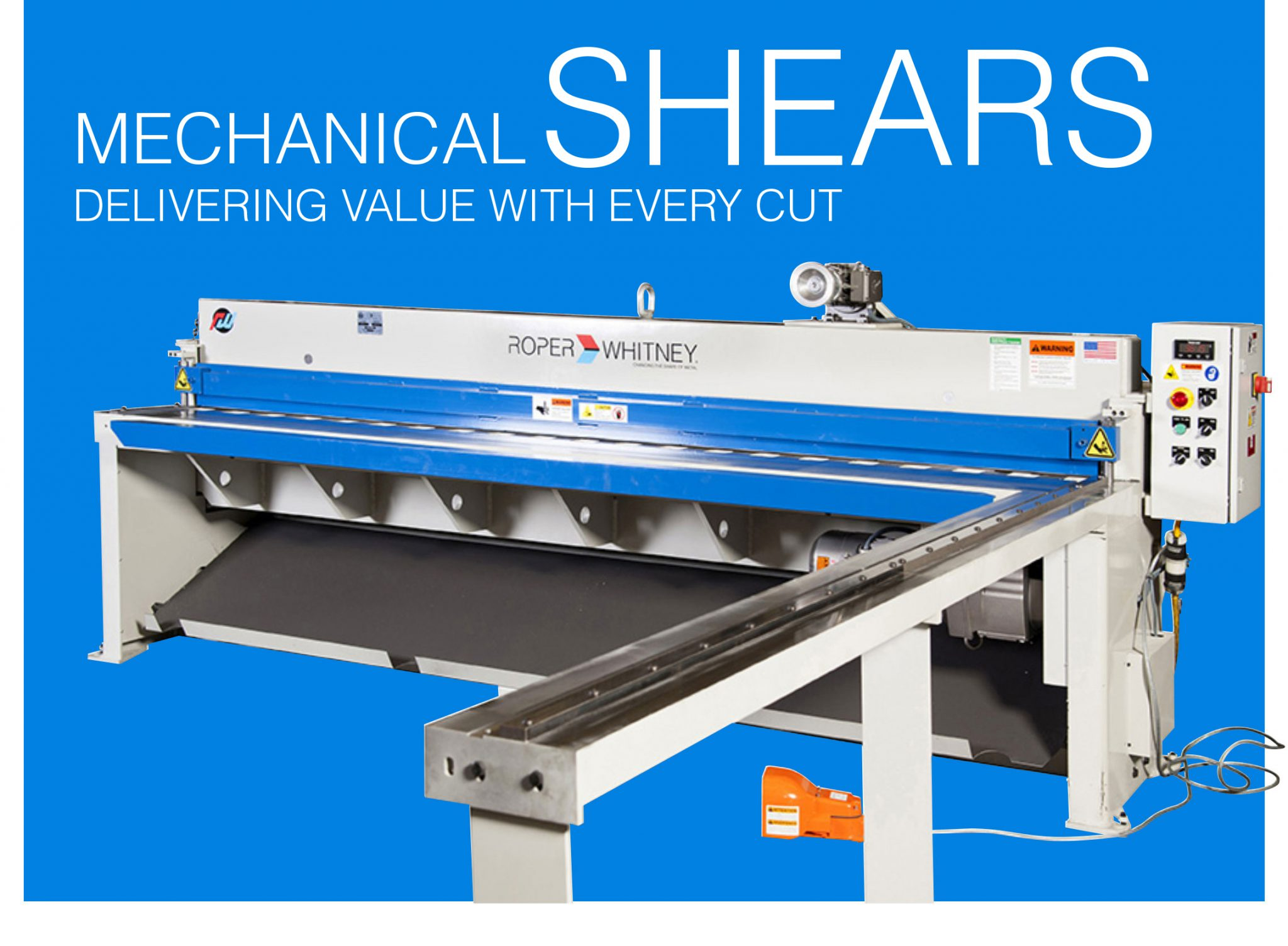 Mechanical Sheet Metal Shears by Roper Whitney