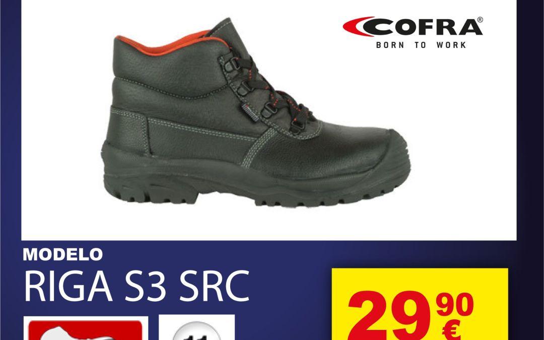 Zapatilla de seguridad: Cofra Riga S3 SRC