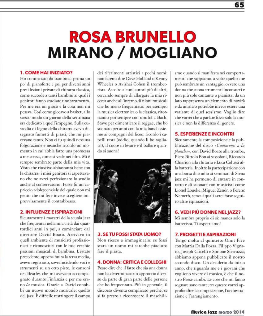 intervistaMUSICAJAZZmarzo2014_2