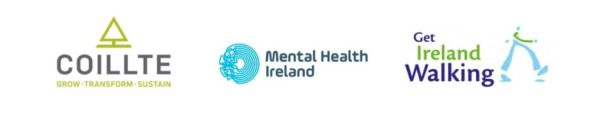 Mental Health Ireland, Get Ireland Walking, Coillte