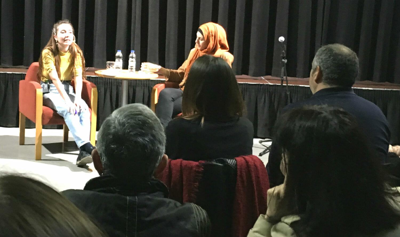 Diálogos feministas con la escritora Miriam Hatibi y la periodista Anna Pacheco en el Centre Cívic Jardins de la Pau de El Prat