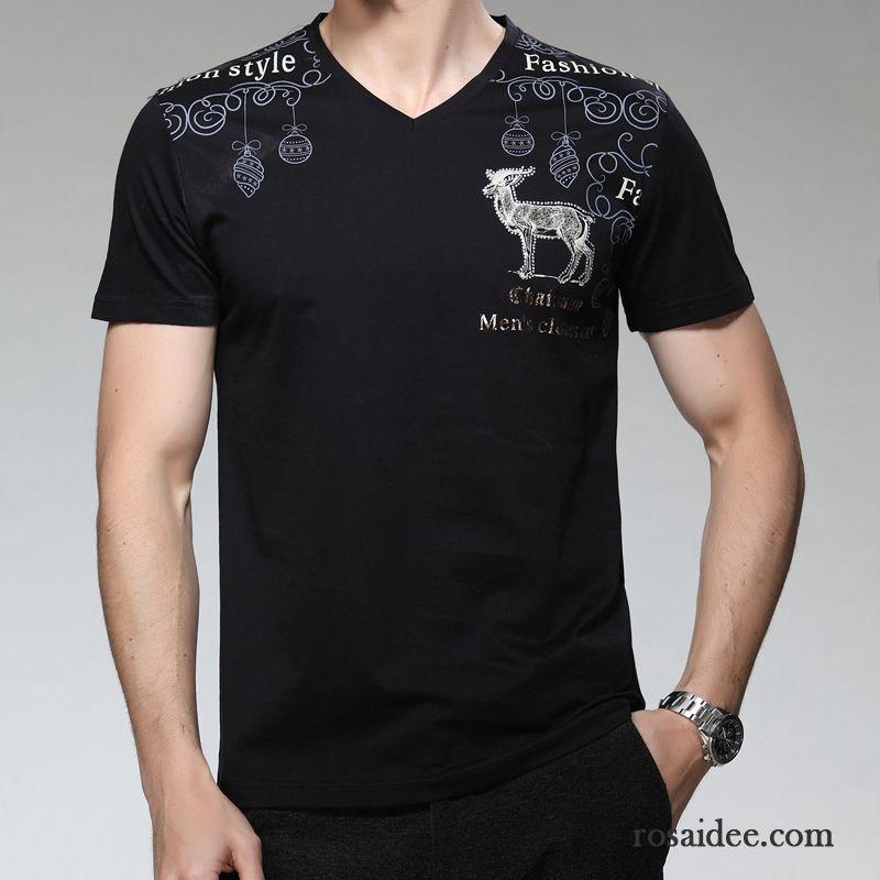 Blau Weiß Gestreiftes Shirt Herren Rein T Shirts Herren