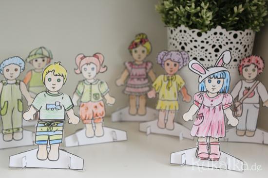 Paper Dolls, Waldorf, Papier Puppe, Anziehpuppe, Kukalka, Dolls, Diy, Cutout