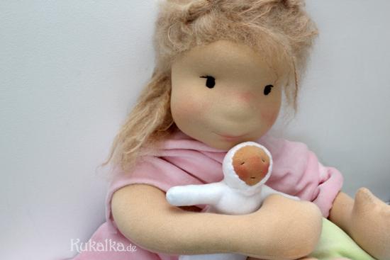 Filzkopf Puppe
