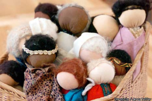 faceless waldoef dolls