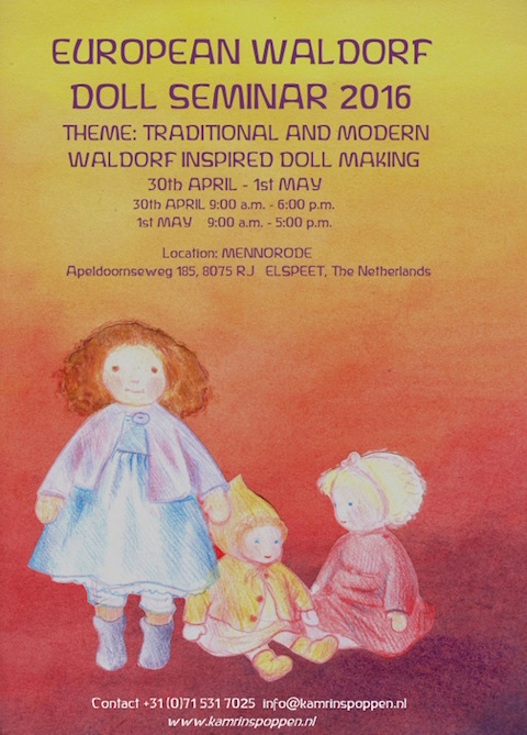 "European Waldorf Doll Seminar ""Traditional and Modern Waldorf Inspired Dollmaking"""