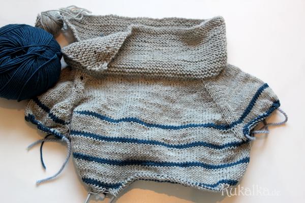 Kinderpullover stricken