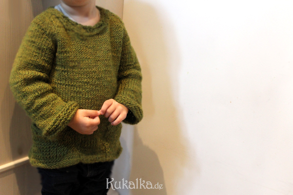 Kinderpullover stricken Starboard