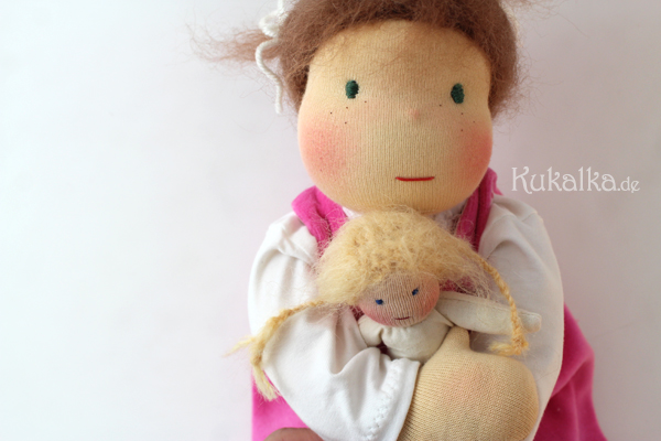Waldorf Baby Puppe Doll