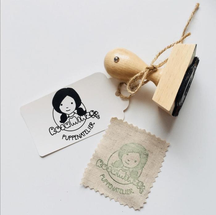 Puppen RosaMinze Stempel