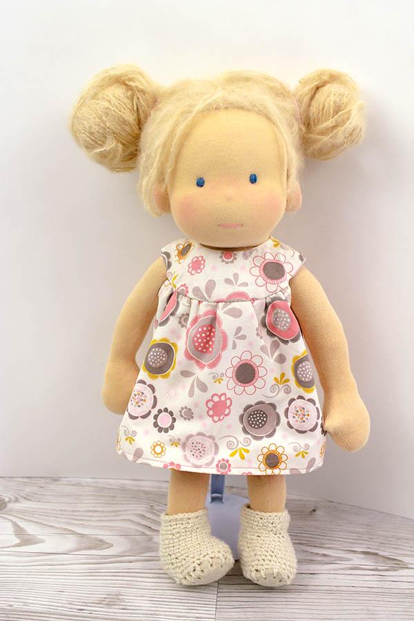 Puppenmädchen Waldorf
