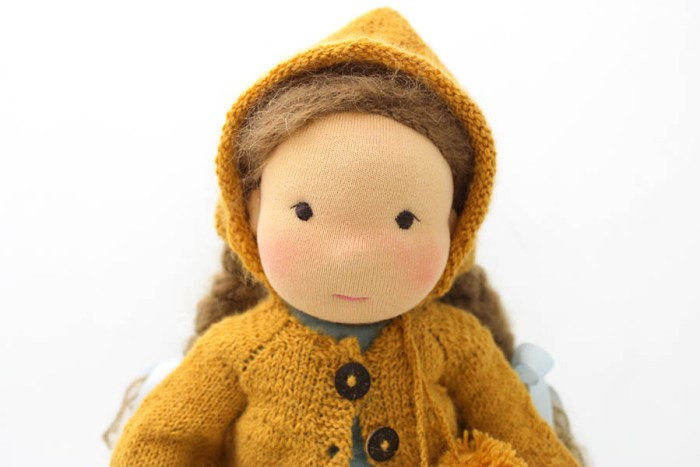 Milli waldorfstyle doll