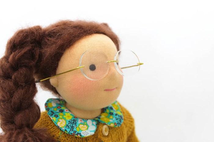 puppe brille