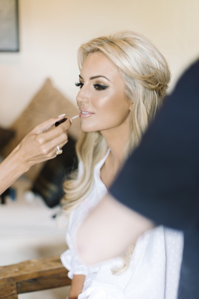 wedding day hair and make-up - rosanna davison nutrition