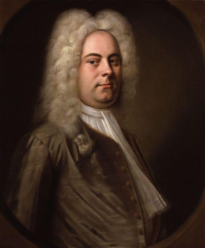Retrato de Georg Friedrich Händel. Obra atribuida a Balthasar Denner (1685 - 1749). National Portrait Gallery, London.