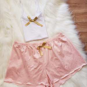 Short Oro Rosa Brillante